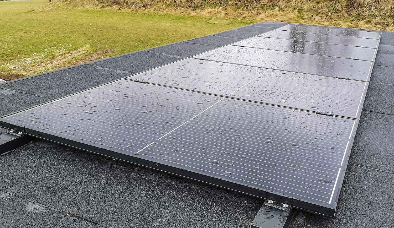 Solceller kompenserer for energitab
